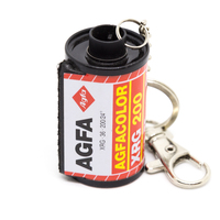 Keyring Agfa Color XRG 200/36 with clasp