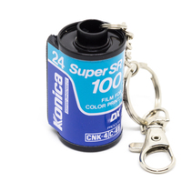 Keyring Konica Super SR 100/24 with clasp